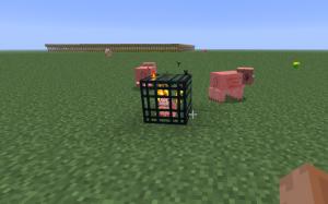 спаунер свиньи в майнкрафт