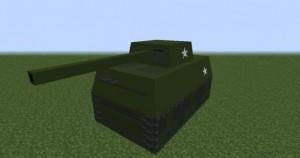 танк в майнкрафт