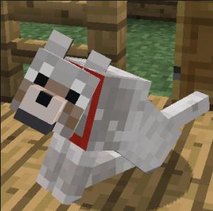 Собака майнкрафт
