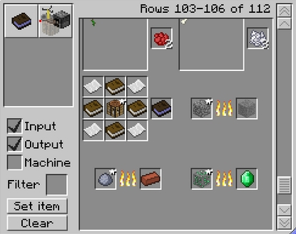 интерфейс CraftGuide в майнкрафт