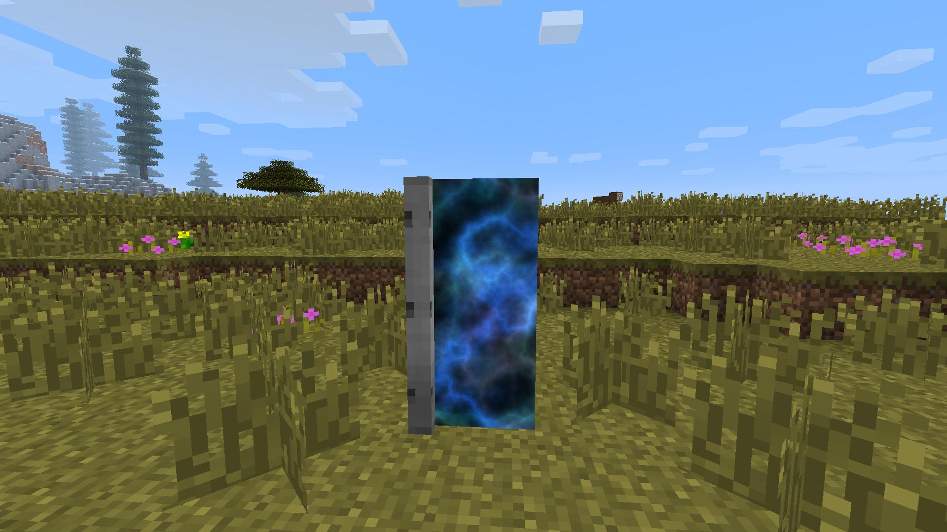 Мод для Майнкрафт Dimensional Doors: Что там, по ту сторону двери?
