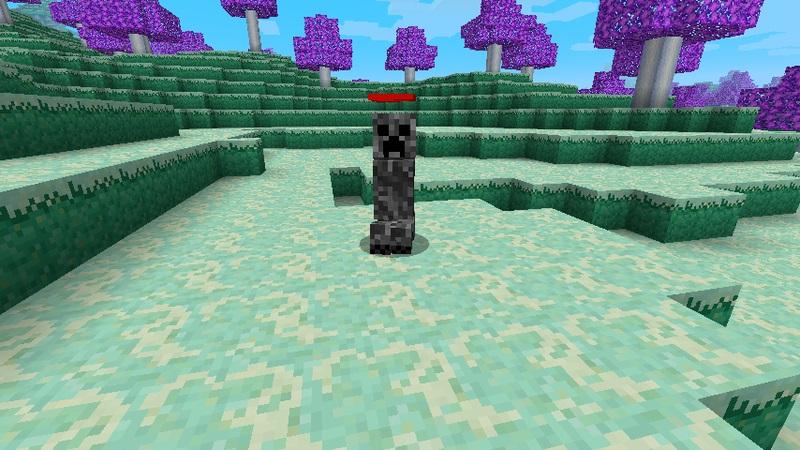 Мод The Ether для Minecraft ангельский крипер
