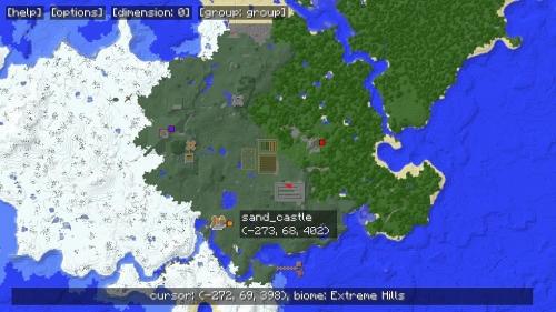 MapWriter mod - доступна опция просмотра на весь экран, а также много других фишек