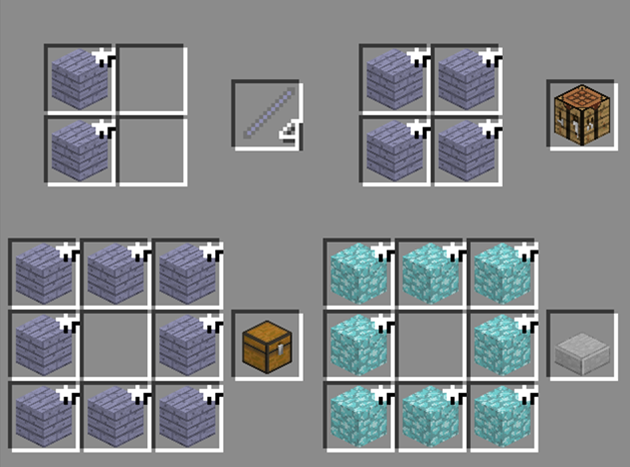Мод The Ether для Minecraft крафт вещей