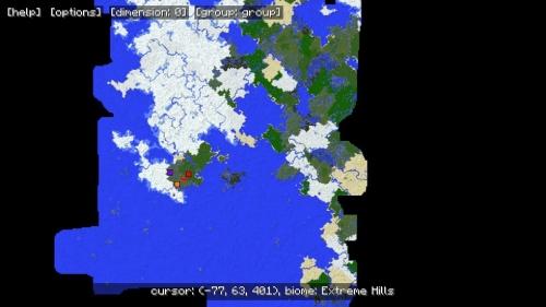 MapWriter отображает только то, что Вы открыли - не больше!