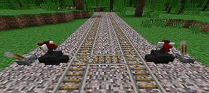 Рельсы в Railcraft
