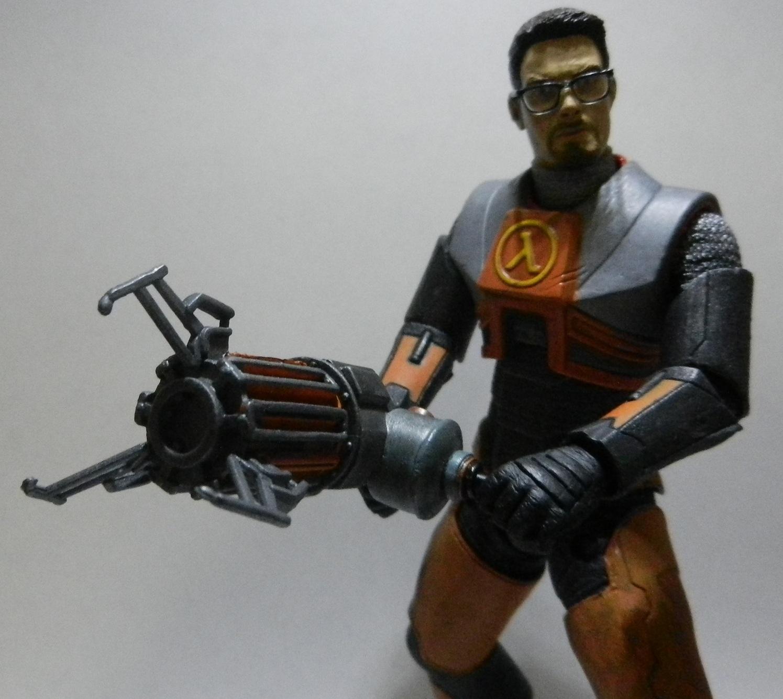 Мод для Майнкрафт The Gravity Gun: Гравипушка из Half-Life 2