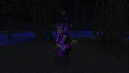 Мод для Майнкрафт Grimore of Gaia 2: Witch