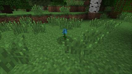 Мод для Майнкрафт Grimore of Gaia 2: Cyan Flower