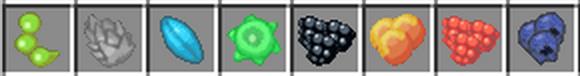 Natura mod для Майнкрафт 1.5.2 и 1.6.4 - ягоды