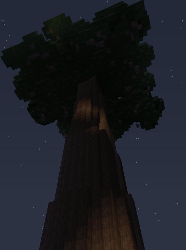 Natura mod для Майнкрафт 1.5.2 и 1.6.4 - красное дерево