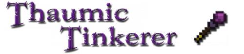 Дополнение к моду Thaumcraft Thaumic Tinkerer для Майнкрафт: Лого