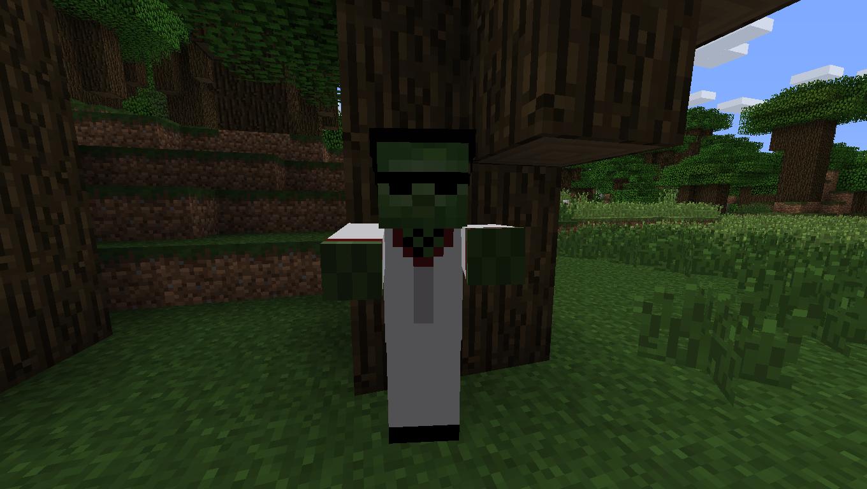 Мод для Майнкрафт Mo' Zombies: Зомби Диско