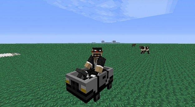 машина в minecraft