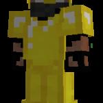 золотая броня в манкрафт