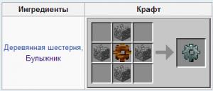 каменая шестерня