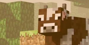 Корова в майнкрафт