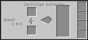 Интерфейс экстрактора майнкрафт