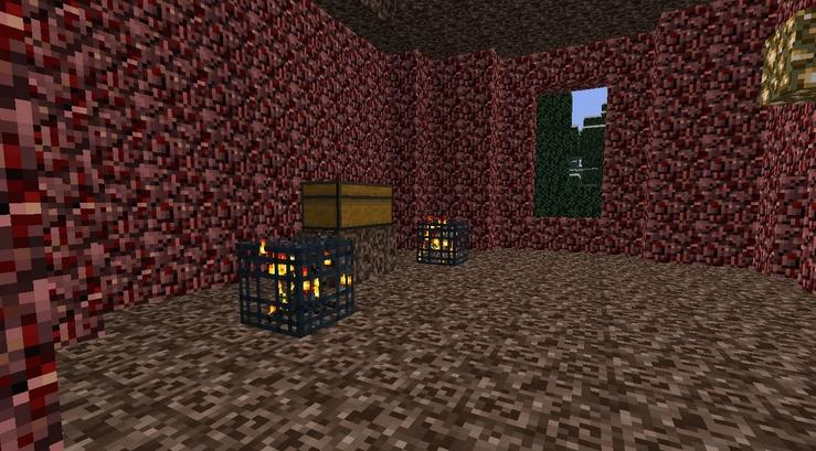 BattleTowers для Майнкрафт: адская башня