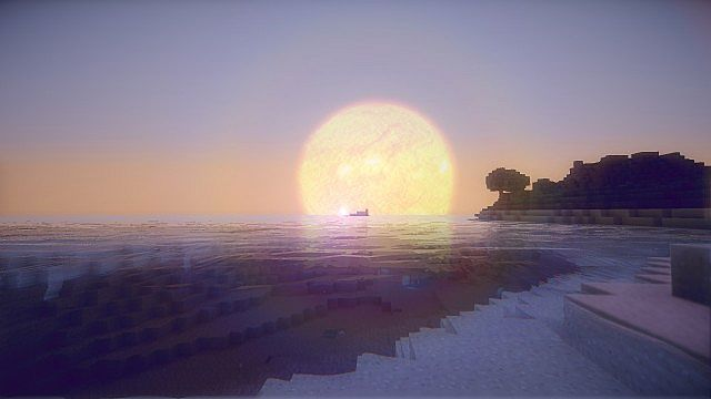 minecraft 1.7.10 with shaders