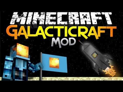 Логотип Minecraft Galacticcraft Mod
