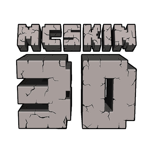 MCSkin 3d логотип