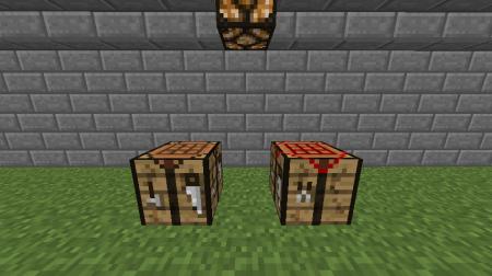 """Мод Easy Crafting для Minecraft: Новый """"умный"""" верстак (справа)"""