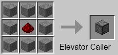 Dynamic Elevators для Майнкрафт: крафт блока отметки этажа (совсем необязательный блок, позже объясним, почему)