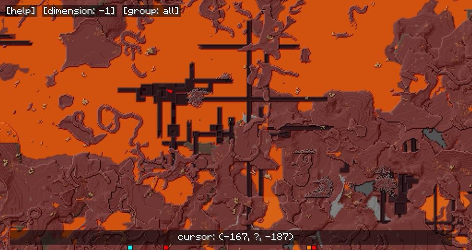 MapWriter способен работать и в Нижнем Мире!