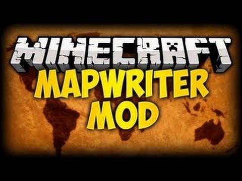 MapWriter - мод, добавляющий классную миникарту в Майнкрафт
