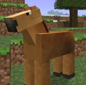 Лошадь майнкрафт