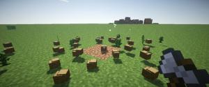 Выпадение блоков с дерева майнкрафт