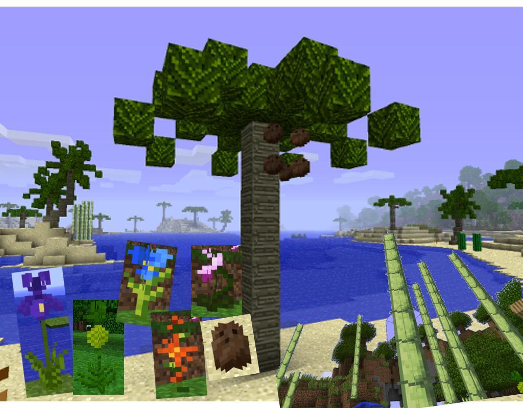Мод Для Майнкрафт Tropicraft: тропические растения