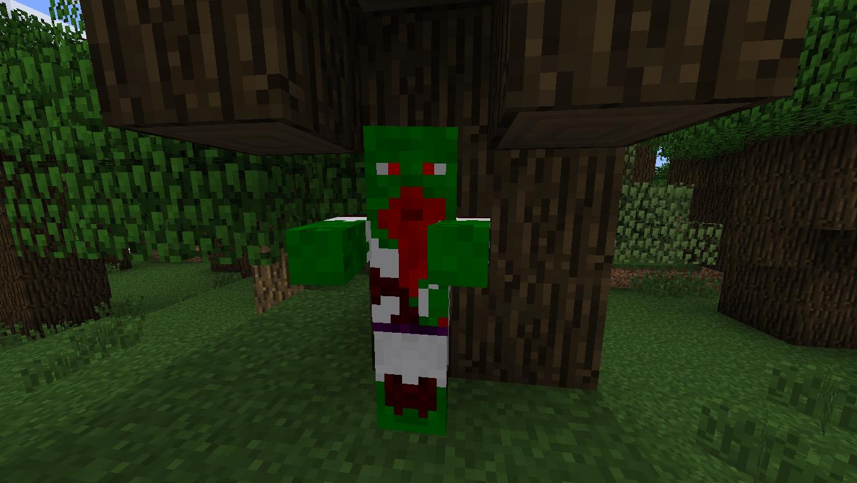 Мод для Майнкрафт Mo' Zombies: Зомби Дворф