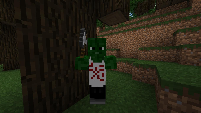 Мод для Майнкрафт Mo' Zombies: Зомби Шеф