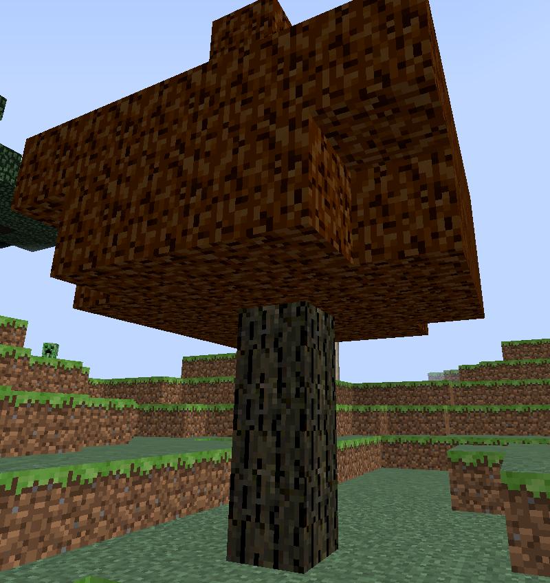 Natura mod для Майнкрафт 1.5.2 и 1.6.4 - тигровое дерево