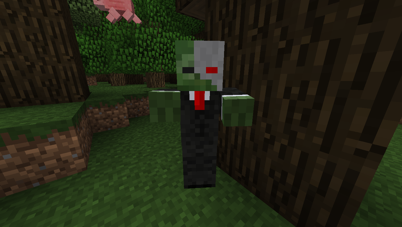 Мод для Майнкрафт Mo' Zombies: Зомби Киборг