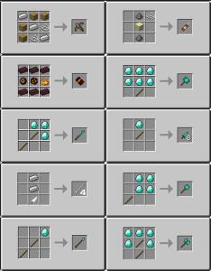 Рецепты оружия майнкратф